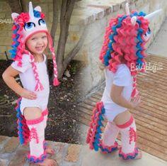 Unicorn Crochet Hat Pattern