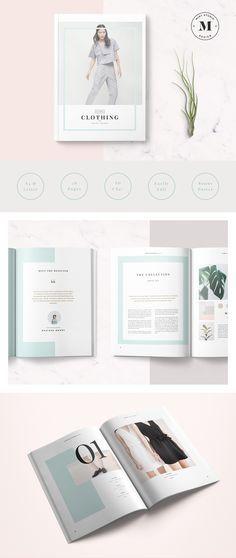 51 Ideas Fashion Magazine Design Editorial Layout For 2019 Design Editorial, Editorial Layout, Portfolio Layout, Portfolio Design, Fashion Portfolio, Web Design, Print Design, Creative Design, Design Ideas