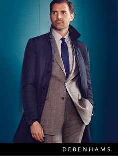 Debenhams Autumn collection 2016 worn by Patrick Grant. Suit up in style this autumn with the latest collection from Hammond & Co. by Patrick Grant. Featuring exquisite designs inspired by the tailors' of Saville Row, find beautifully cut suits ideal for the office and special occasions.