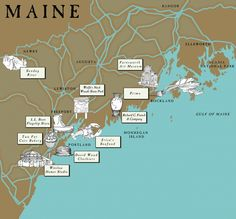 Like a Local: #Maine via Vogue Daily