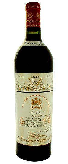 '45 Chateau Mouton Rothschild