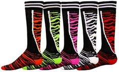 zebra socks for boots