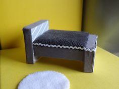 DIY miniature bed