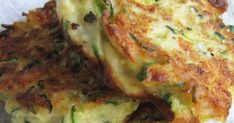 Recipe Zuccini & Ricotta Fritters with Rouille by karrazza, learn to make this recipe easily in your kitchen machine and discover other Thermomix recipes in Main dishes - vegetarian. Lemon Recipes, Vegetable Recipes, Vegetarian Recipes, Cooking Recipes, Greek Recipes, Italian Recipes, Ricotta Fritters, Baked Zucchini Fritters, Zucchini Bites