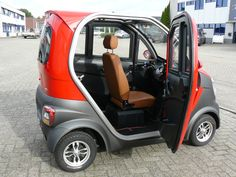 Small Electric Cars, Electric Scooter With Seat, Tricycle Motorcycle, Motorized Tricycle, Mobiles, Good Looking Cars, Microcar, Car Camper, Smart Fortwo