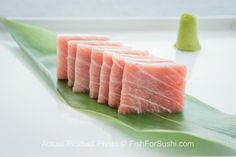 Deliver premium sushi-grade Bluefin Otoro (9 oz) - the most highly prized part of the tuna - to your door! Otoro's high fatty content simply melts in your mouth.  Order now at FishforSushi.com