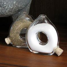salt pepper shakers | Salt & Pepper Shakers Clear Glass on Wanelo