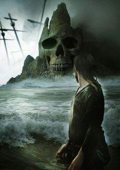 Dark art: Skull Island