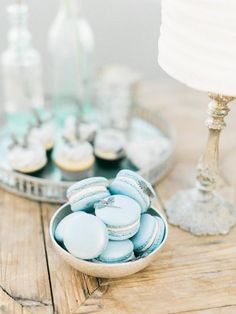 Pantone released their 2016 spring report including top 10 colors. They always make the prettiest color selections and today I will share you Limpet Wedding Desserts, Wedding Themes, Mini Desserts, Wedding Ideas, Wedding 2015, Blue Wedding, Wedding Doors, Wedding Consultant, Tiffany Wedding