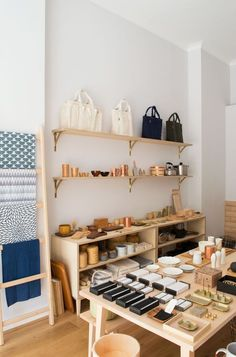 A Stylish Find / Native & Co Japanese & Taiwanese homeware store, Native & Co, Notting Hill Boutique Interior, Shop Interior Design, Visual Merchandising, Nordic Interior, Retail Interior, Japanese Store, Design Light, Retail Store Design, Retail Stores