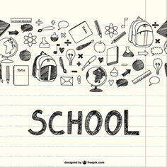 Scuola oggetti