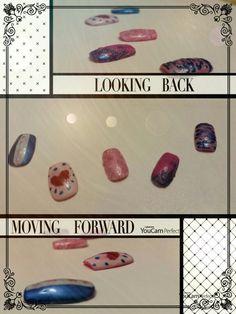 Ecco delle unghie finte decorate da me  ! Spero che vi piacciano !
