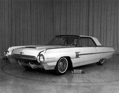 Proposed facelift, 1963 Thunderbird clay.