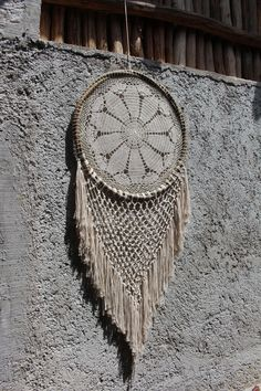 Macrame and crochet dream catchers, made in Mexico by DreamsMexico on Etsy https://www.etsy.com/uk/listing/522855872/macrame-and-crochet-dream-catchers-made