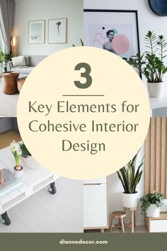 Well-designed homes always have one thing in common. It is a cohesive interior design scheme. Here's how to do it in your home.    #interiordesign #interiordecorating #homedesign #designhome #homedecorating #interiors #roomideas Learn Interior Design, Interior Decorating Tips, Interior Styling, Decorating Your Home, Decorating Ideas, Decor Ideas, Simple Apartment Decor, Apartment Bedroom Decor, Rental Home Decor