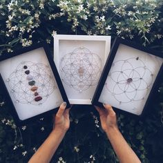 CRYSTAL GRID ART GIVEAWAY! We have teamed up with the creative and talented Nicole @thecrystalartist to give away one of these gorgeous framed #Crystal shadow box pieces. Hand-sewn with semiprecious stones onto #sacred geometry grids. HOW TO ENTER Must be following @chasinunicorns & @thecrystalartist Tag TWO of your friends & comment below: What is your favorite creative outlet? BONUS: Re-post this photo for THREE extra entries. Giveaway ends on Sat July 1st at 6pm Pacific! Winner will be AN