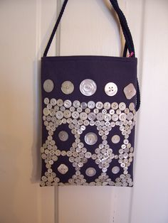 Button bag by East Side Bags and Accessories