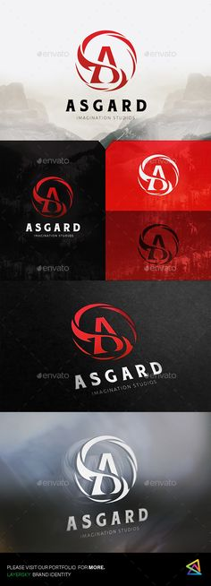 Asgard Logo — Photoshop PSD #a #infinity • Download ➝ https://graphicriver.net/item/asgard-logo/20135505?ref=pxcr
