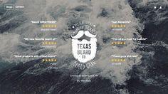 Texas Beard Company #handdrawn #typography