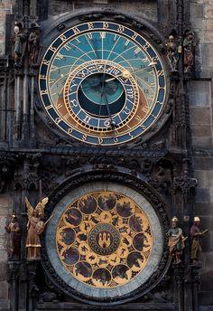 Prague Astronomical Clock. (by MariusRoman)