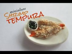 Polymer Clay Tempura Tutorial (Miniature Mondays) - YouTube