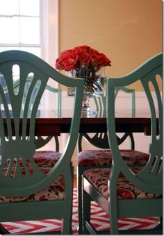Good idea for my dining room chairs