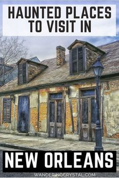 haunted places in New Orleans, things to do in New Orleans, Spooky things to do in New Orleans, ghost tours in the French Quarter, things to do in the french quarter New Orleans, French Quarter history, tours in New Orleans, cemeteries in New Orleans, Voodoo history in New Orleans, Marie Laveau's House of Voodoo, Voodoo Queen of New Orleans, things to do in NOLA, wanderingcrystal, haunted places to visit in New Orleans, vampires in New Orleans, St Louis Cemetery #NewOrleans #DarkTravel #USA New Orleans Travel Guide, New Orleans Vacation, New Orleans Hotels, Visit New Orleans, Trip To New Orleans, Us Travel Destinations, Places To Travel, Places To Visit, Haunted Hotel