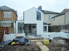 2 storey extension by GranitArchitects, via Flickr