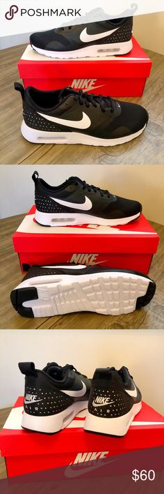 Nike Herren AIR MAX Tavas Sneaker Weiß (BlancNoir), 40 EU
