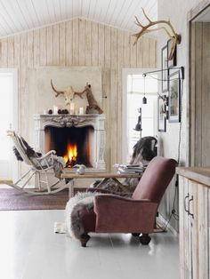 Moutain Lodge Cover Shoot for Elle Decoration