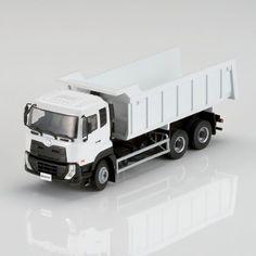 1/50 UD Trucks Quester Dump Truck Diecast Model White CAB TILTING Free New #UDTrucks