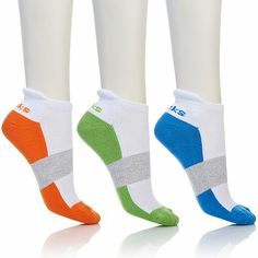Tony Little Cheeks® 3-pack Cushioned Performance Sock at HSN.com