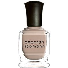 Deborah Lippmann Creme Nail Polish ($18) ❤ liked on Polyvore featuring beauty products, nail care, nail polish, formaldehyde free nail polish, deborah lippmann nail lacquer, deborah lippmann nail color, deborah lippmann and deborah lippmann nail polish