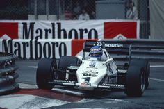 Keke Rosberg | Williams FW08C | Monaco Grand Prix