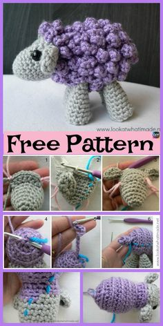 Adorable Crocheted Sheep - Free Pattern #freecrochetpatterns #toys #sheep d-sheep-free-pattern/