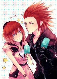 Kingdom Hearts 3 Kairi and Lea By Sera on Twitter