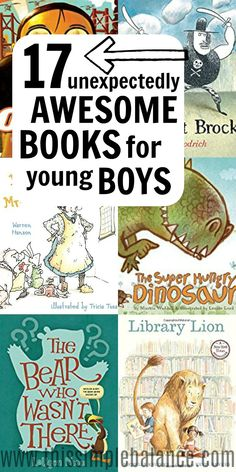 Fun Books for Boys, Ages 6-8