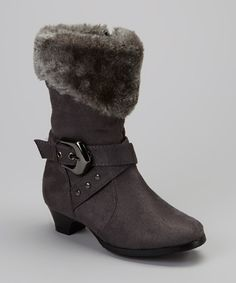 <p+style='margin-bottom:0px;'>Snowflake-covered+sidewalks+beware—these+sweet+boots+are+primed+and+ready+to+show+off!+Featuring+an+easy-on+zipper+closure,+they+come+complete+with+a+faux+fur+cuff+for+an+added+element+of+toasty+texture.<p+style='margin-bottom:0px;'><li+style='margin-bottom:0px;'>1.25''+heel<li+style='margin-bottom:0px;'>Inner+zipper+closure<li+style='margin-bottom:0px;'>Man-made<li+style='margin-bottom:0px;'>Imported<br+/>