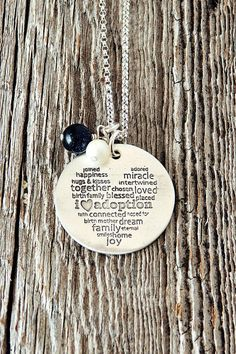I Love Adoption I Heart Adoption Necklace by charmedcollections1