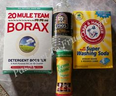 Dishwasher Detergent Recipe 20 Mule Team Borax #Purex @Passport ToFrugal...this is what we have switched to and I honestly like it much better than the regular dishwasher detergent and it is MUCH cheaper. I strongly recommend it!!