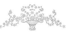 dibujos de flores para bordar y regalar