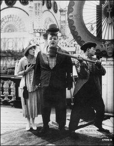 "Coney Island (also known as Fatty at Coney Island) is a 1917 American silent short comedy film written and directed by Roscoe ""Fatty"" Arbuckle, and starring Arbuckle and Buster Keaton."