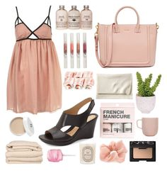 """""""// n a p o l i //"""" by liamschoco on Polyvore featuring moda, Naturalizer, Stila, Brahms Mount, Serena & Lily, H&M, Lux-Art Silks, iittala, Diptyque e Accessorize"""