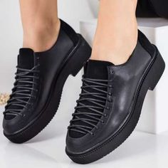 Pantofi casual dama negri Lanoria