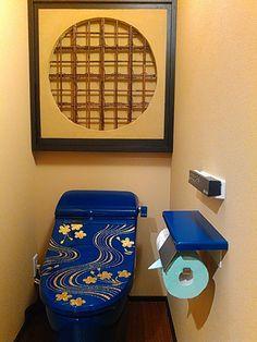 みつわ(個室創作和食店、宇都宮市)様  納入  群青の行 Bathroom Interior Design, Canning, Home Canning, Conservation