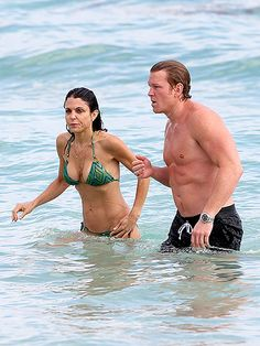 Star Tracks: Thursday, January 1, 2015   WATER BABIES   Bethenny Frankel and boyfriend Michael Cerussi prepare to ring in the new year with a daytime dip in the Atlantic Ocean on Wednesday in Miami.
