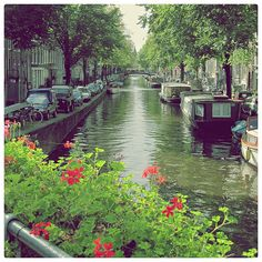 Amsterdam Canal, The Netherlands