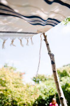 How To Build a Chuppah | A Practical Wedding