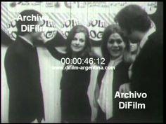 DiFilm - Artistas argentinos en inauguracion de Bola Loca 1965