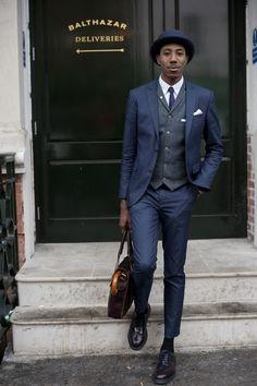 Was würde perfekt zu diesem Outfit passen? Das neue KEPLER Etui! Jetzt 15% Rabattcode sichern: PINTERESTSECRET #suit